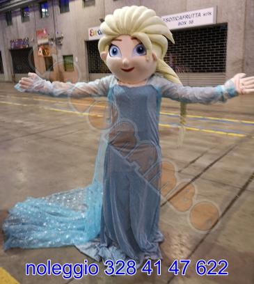 Mascotte Elsa Frozen Anna Olaf