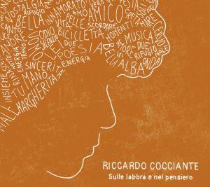"""cover """"Sulle labbra e nel pensiero"""" di Riccardo Cocciante"""