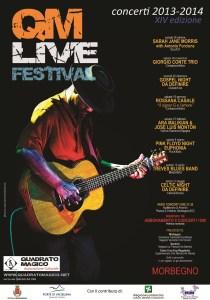 Manifesto QM-Live 2013-2014