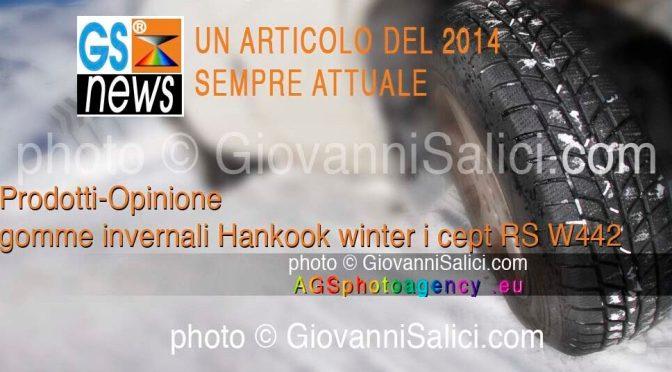 prodotti-opinioni gomme invernali <br>Hankook winter i cept RS W442</br>