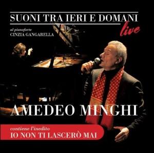 la copertina di suoni tra ieri e domani, di Amedeo Minghi