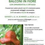 Balconi in Fiore, il corso con Anna Bocchietti