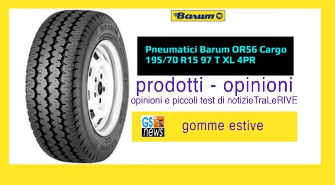Barum OR56 Cargo gomme estive uniscono sicurezza e prezzo: prodotti – opinioni