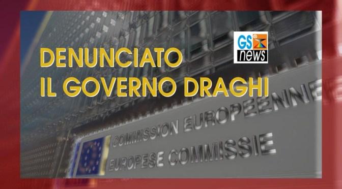denunciato il Governo Draghi