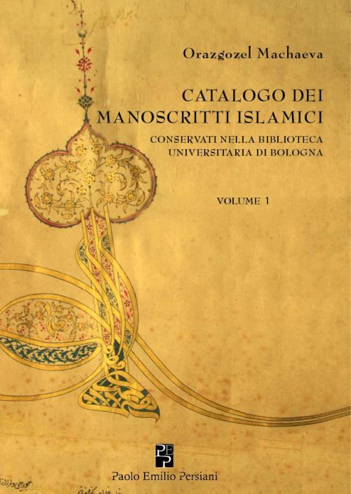 catalogo dei manoscritti islamici_cover