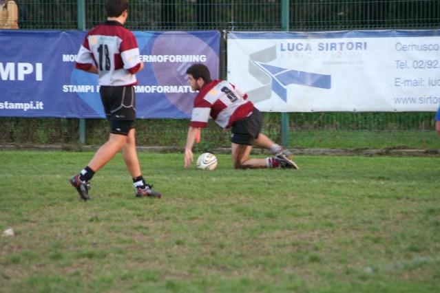 under 16 CE vs Seregno 21-10-2012 2