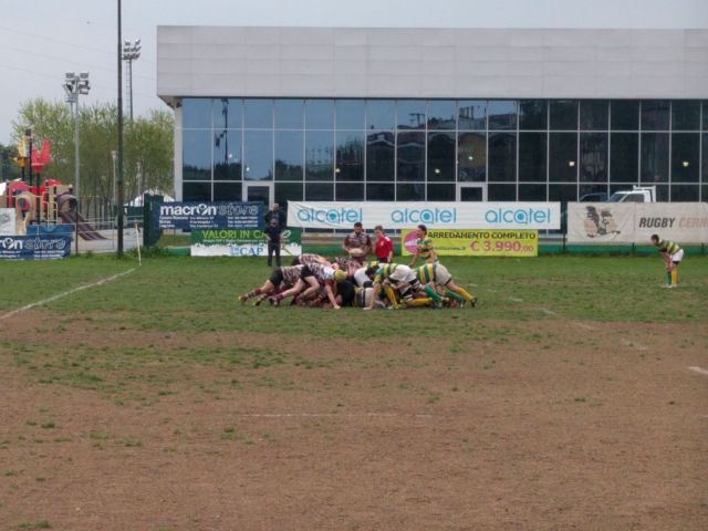 Rugby Cernusco – Chicken 2012 Rugby  31-3
