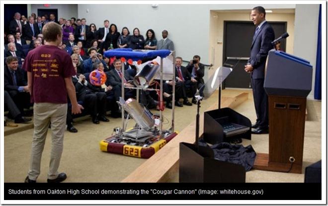 """Obama lancia """"Educare per Innovare"""" iniziativa per l'eccellenza nelle Scienze e nella Matematica"""