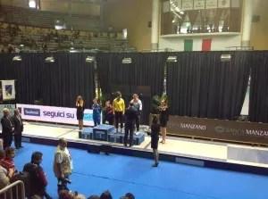 Bronzo per Sofia Ciaraglia nel Campionato Italiano Assoluti di Sciabola