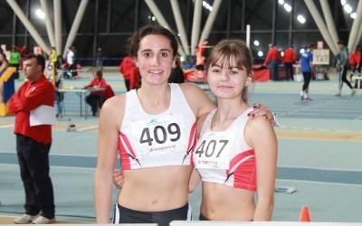 Paula i Nuria finalistes en el Campionat de Catalunya Junior