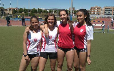 Sisenes al Campionat de Catalunya Juvenil de Relleus