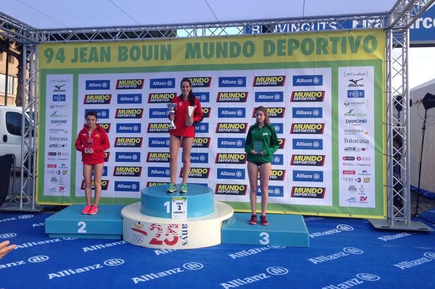 Ines Alonso guanya la Jean Bouin en categoria sub'20