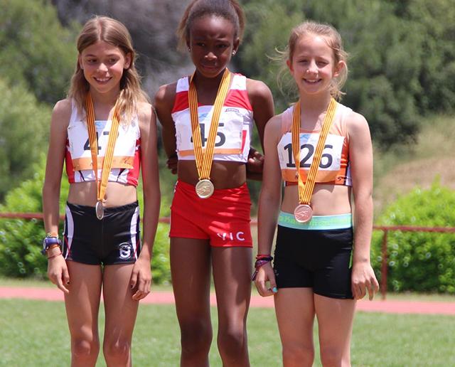 Set medalles en el Campionat de Catalunya de promoció
