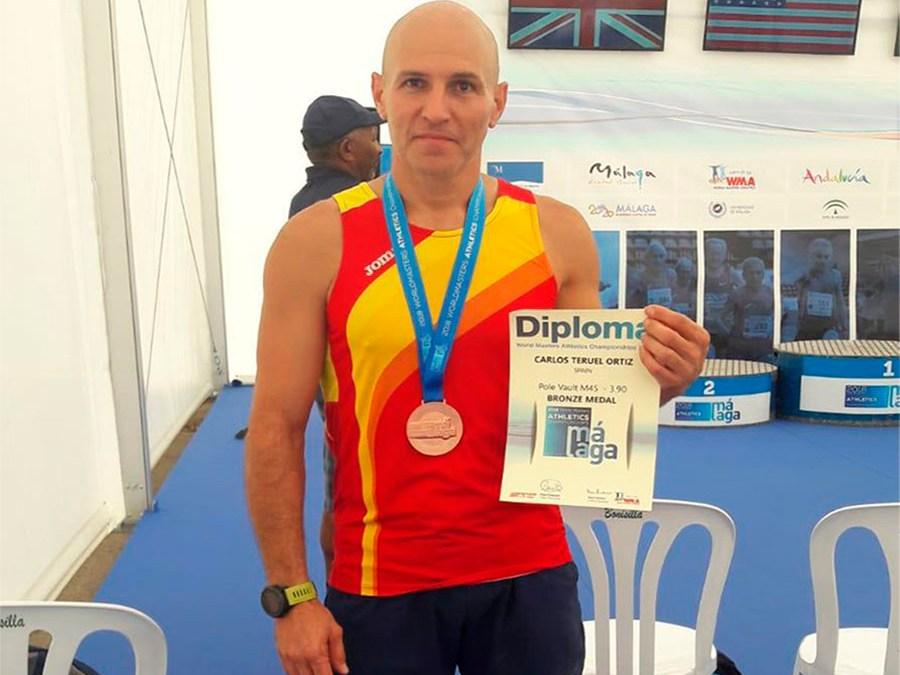 Carlos Teruel bronze en el Campionat del Mòn Màster