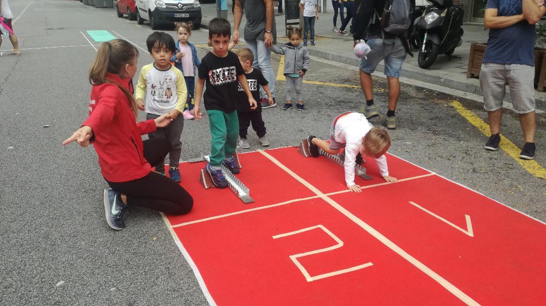 Atletisme al Carrer – Festa Major de Les Corts