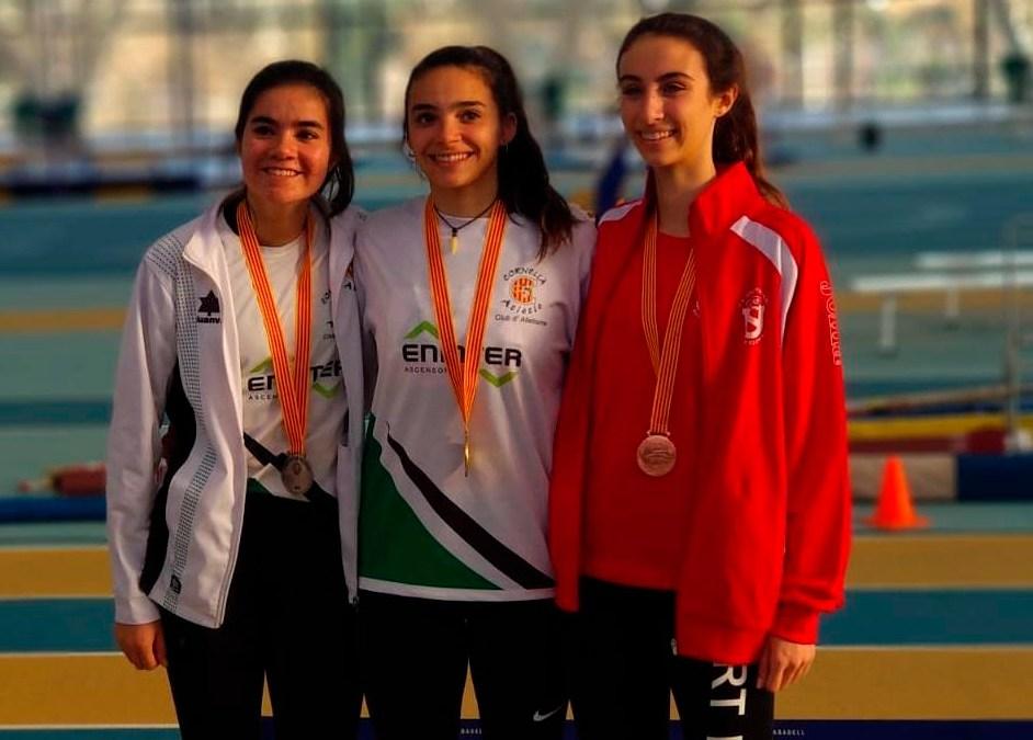 Maria Poch Bronze en el Campionat de Catalunya Sub20 de Combinades