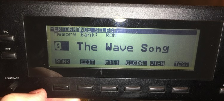The Wave Song