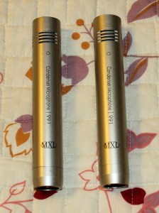 2 MXL991 Condenser Microphones