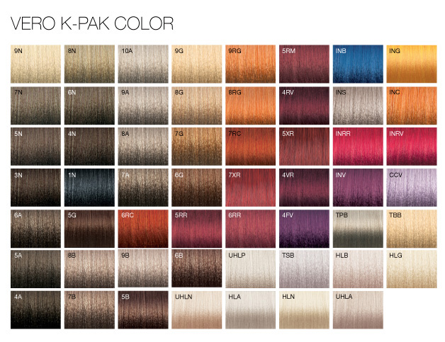 Joico Vero KPak Color System Vero K Pak Chrome Demi