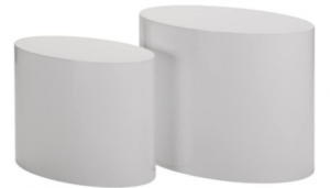 Cilinder Side Tables BCO E08028-WEI B-02-01