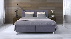 Boston Lux Bed (160x200 cm) - including Mattress