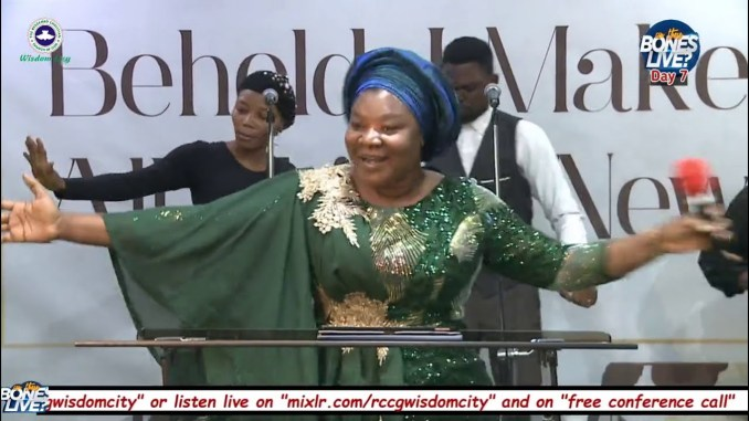 Day 7 Bukola Bekes Ministeration CAN THESE BONES LIVE Prayer Conference 2020  - YouTube
