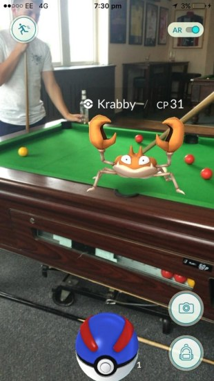 Deanna sends this one in, and Krabby's at it again! Shall we call it a draw, then?