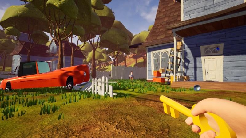 Hello Neighbor PS4 Review   LoadingXP