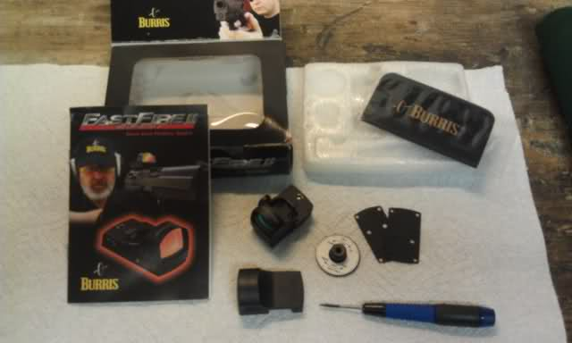 Unboxing the Burris Fastfire Micro Red Dot