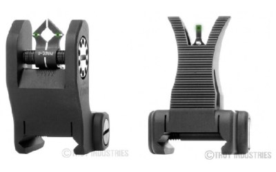 Iron Sights: Rugged and Dependable