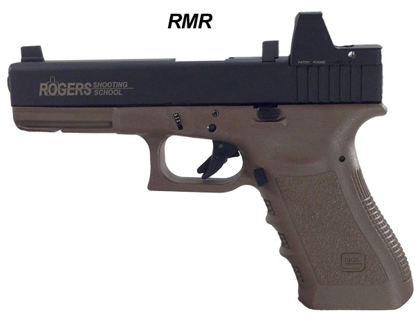 Rogers Optic-Ready Glock Slide and the RMR