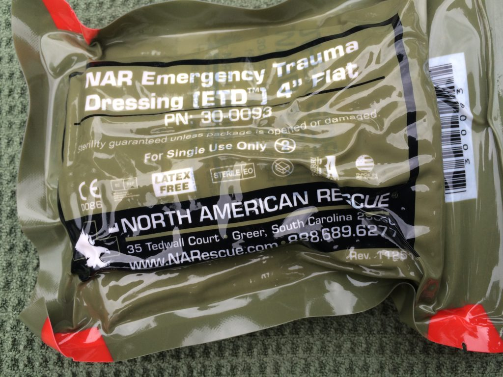 North American Rescue Belt Trauma Kit