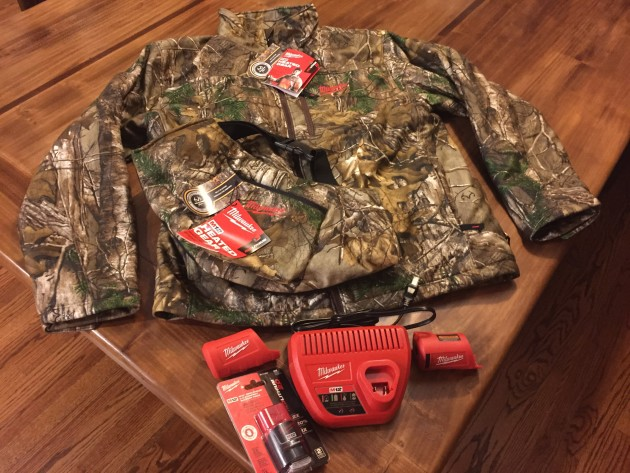 Milwaukee M12 Heated Jacket and Heated Hand Warmer