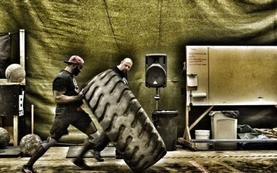 SURVIVAL FITNESS: TRACTOR TIRE FLIPS
