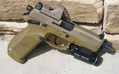 The FNX-45 Tactical Pistol: Born and bred for battle