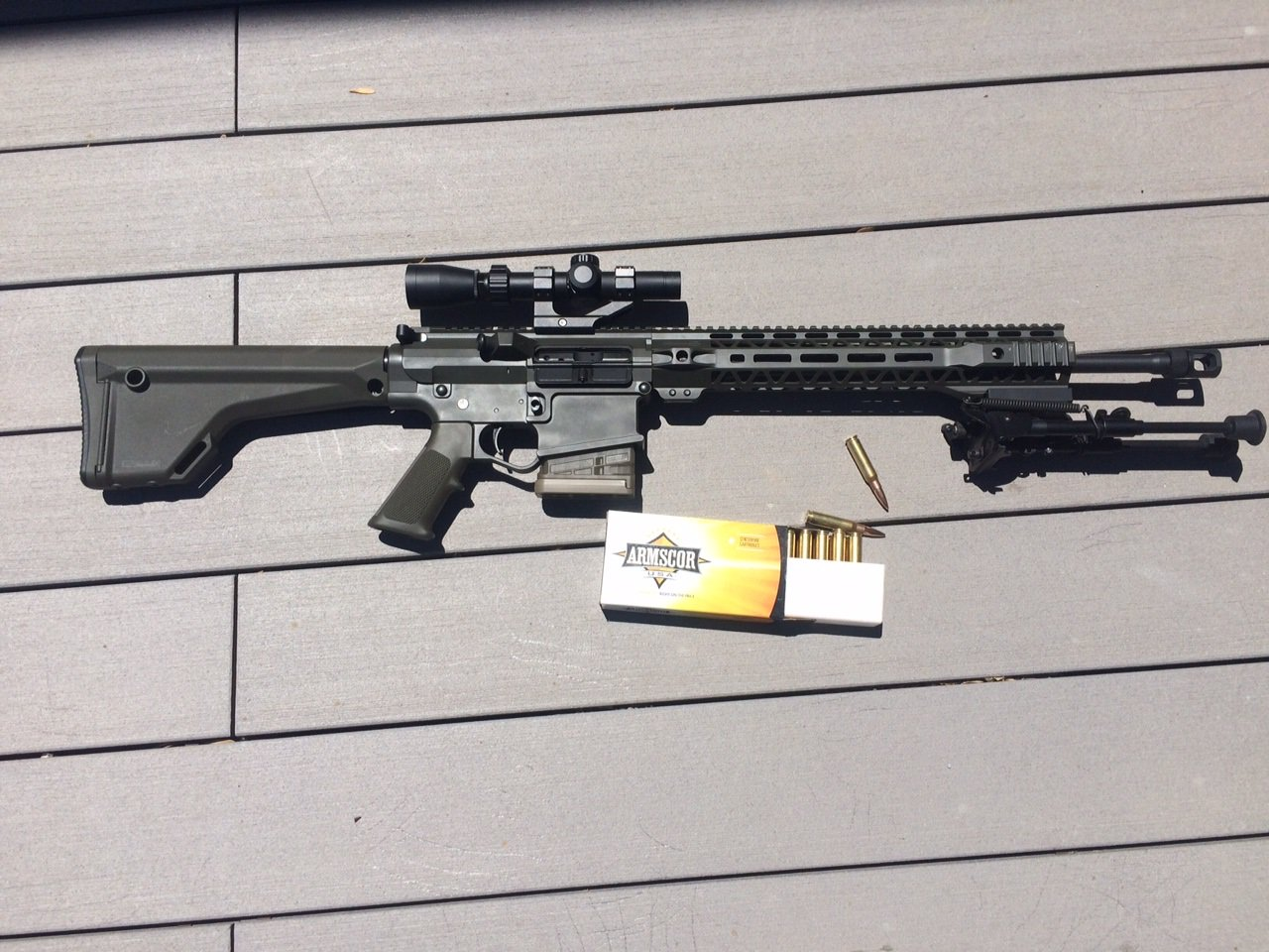 Building a  308 AR Rifle that works: Compatibility and Engineering