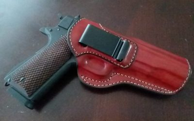 Old Leather Gun Holsters – BAD for Concealed Carry