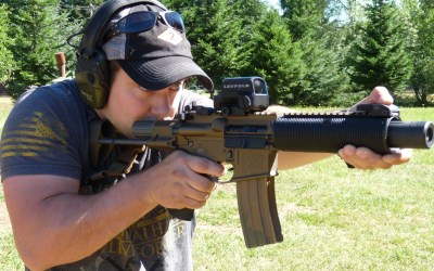 Suppressed Armament Systems | Blast Diverter