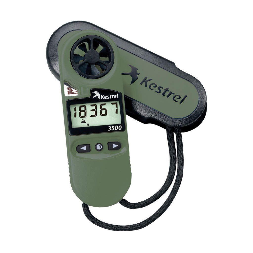 Kestrel 3500 Weather Meter | Quick Look