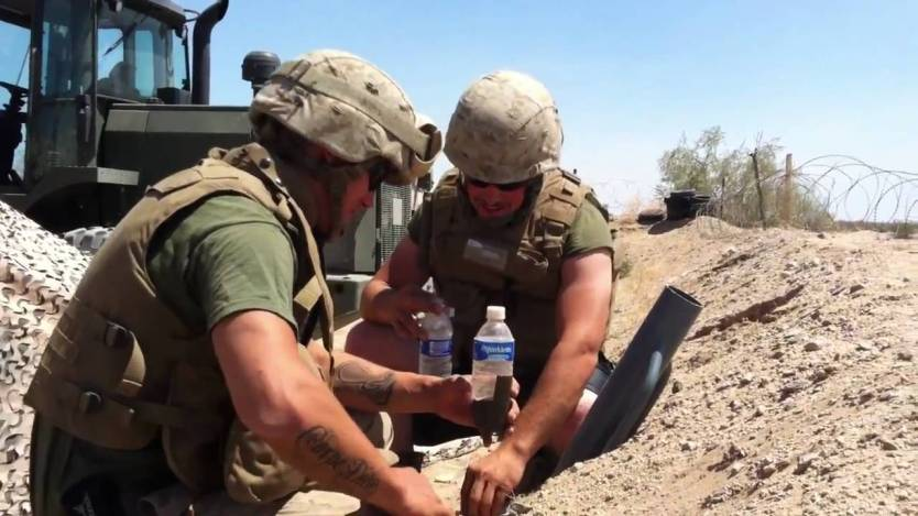 Watch: The Things Marines Do When Deployed
