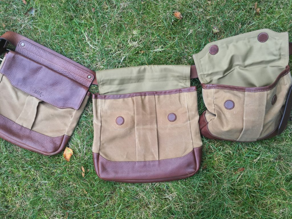 Mission Mercantile Bird Bag Trio and White Wing Label Game Belt