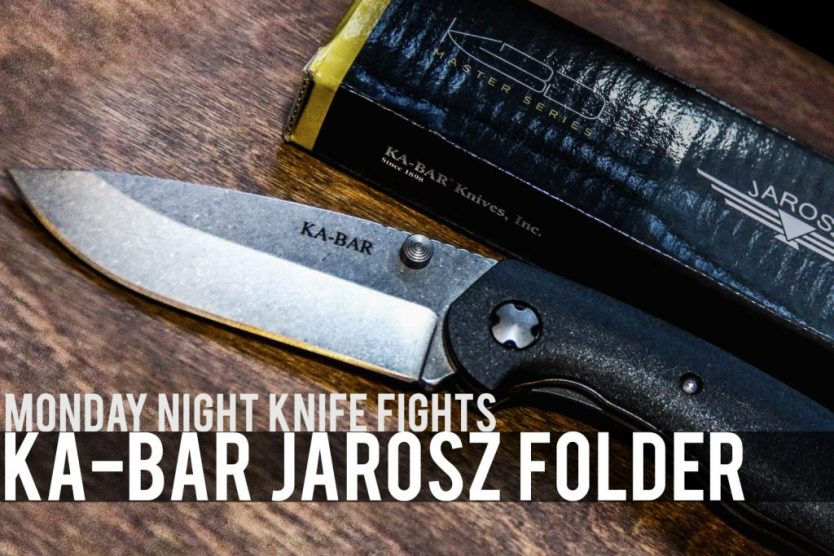 "MNKF: The Ka-Bar ""Jarosz"" Folder"