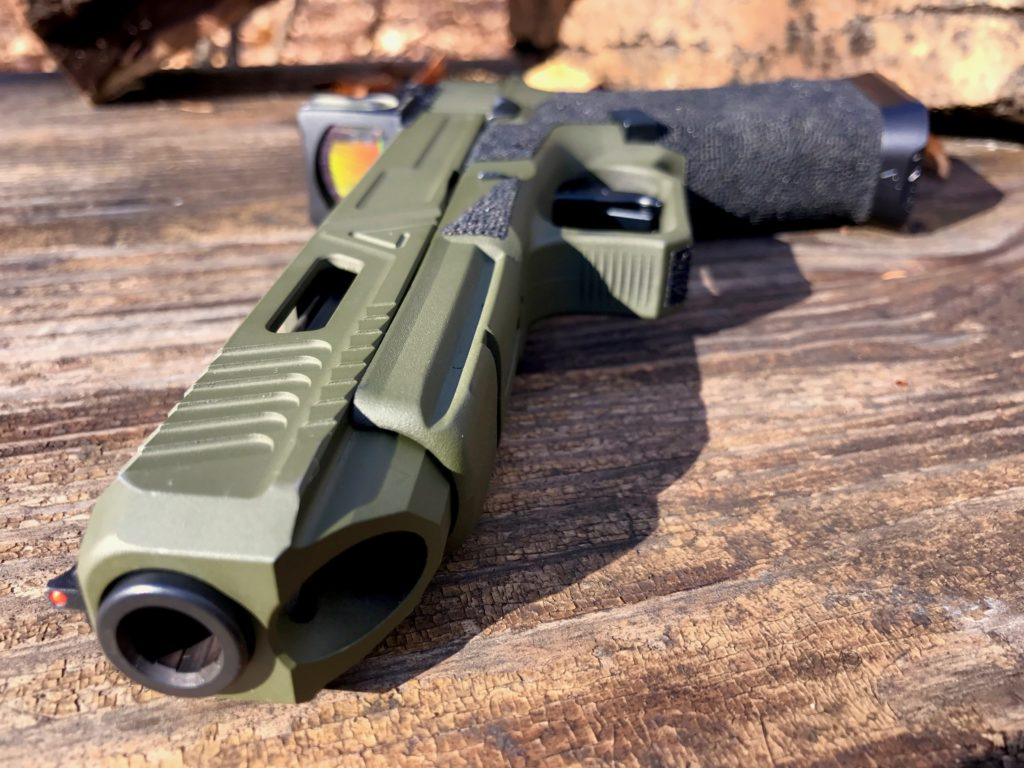 An Army Rangers Agency Arms Glock 34 Handgun | The Loadout Room