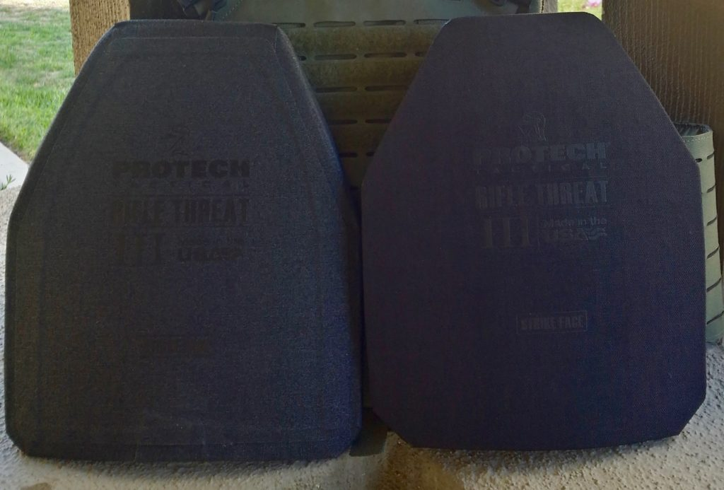 Protech Shift 360 PC and Rifle Plates