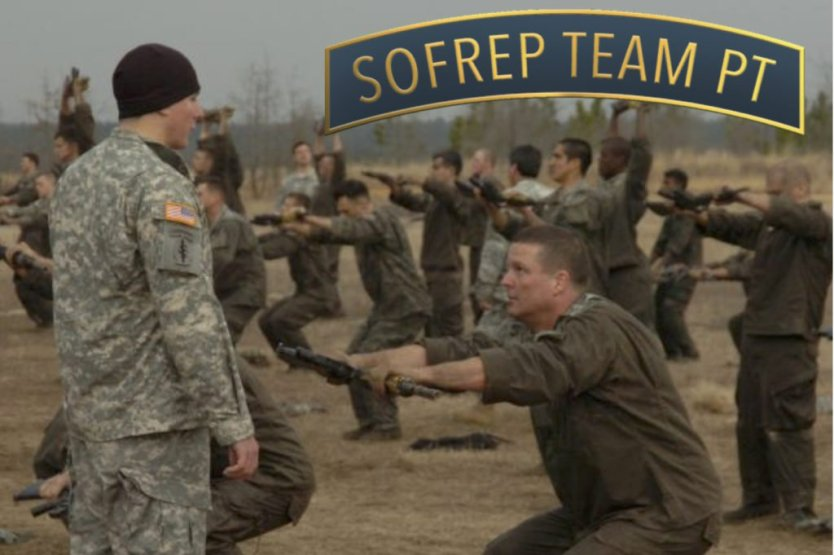 SOFREP Team PT: Starting Monday, November 21st