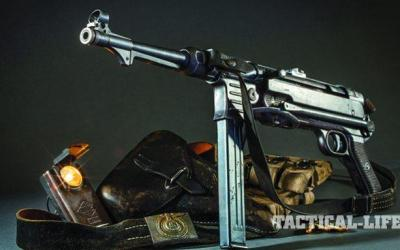 MP40: Germany's Influential 9mm Submachine Gun