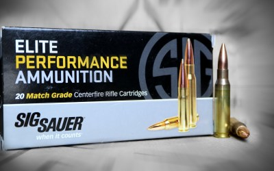 Sig Elite Performance .308 Ammunition: Good as Its Name