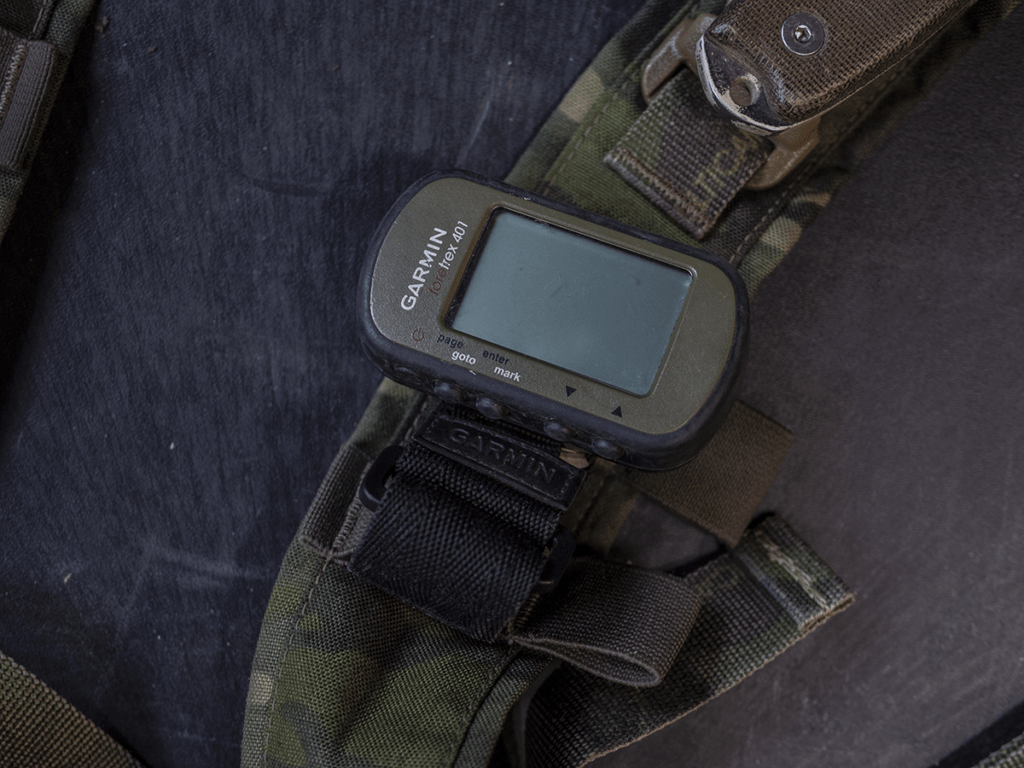 The Garmin Foretrex 401 GPS