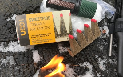 UCO Sweetfire Strikable Fire Starter | Better than Matches?