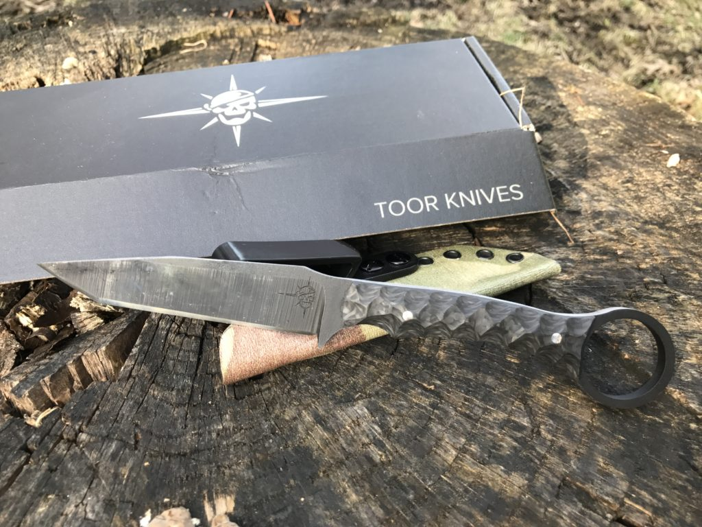 Toor Knives Serpent   Concealable Fixed Blade   Quick Look